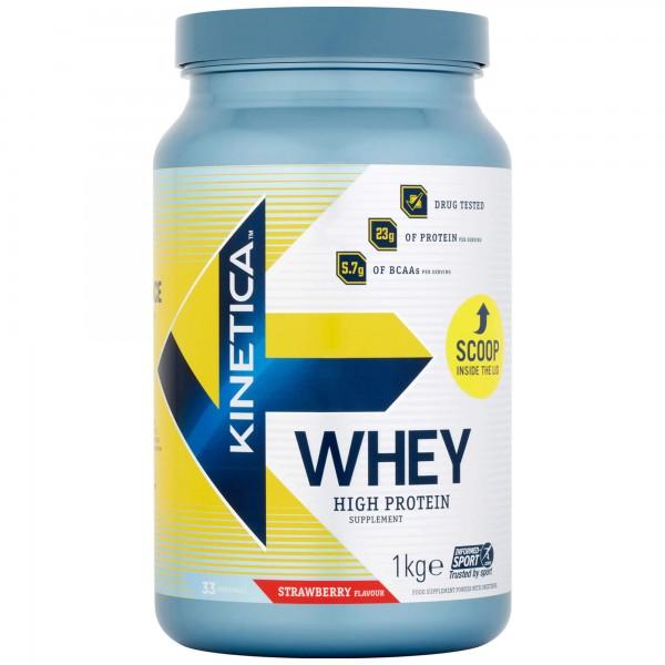Kinetica Whey Protein 1Kg Morango