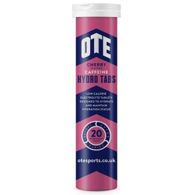 OTE Hydro Tab Cherry Cola Caffeine 20 Pastilhas