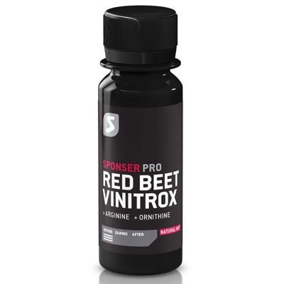 Sponser Red Beet Vinitrox 4 X 60ml