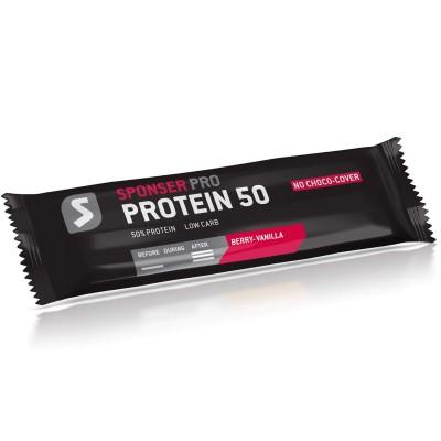 Sponser Protein 50 Bar Amora-Baunilha 50g