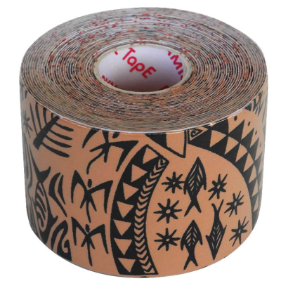 Dynamic Tape  Rolo 7,5cm x 5m Black Tattoo