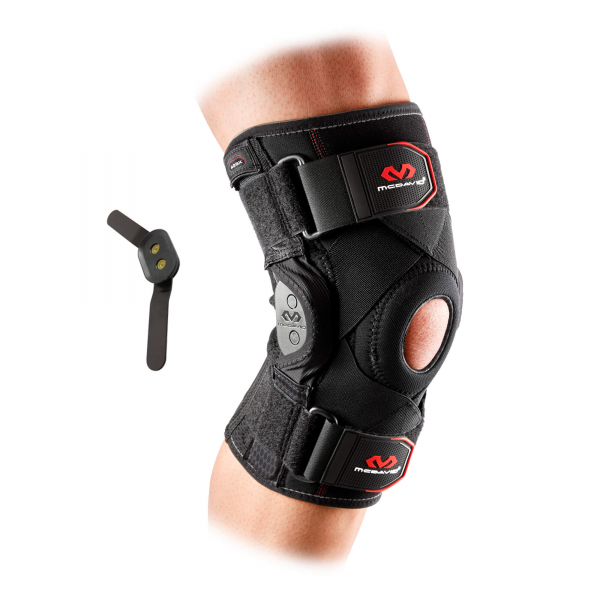 Knee Brace w/ polycentric hinges & cross straps 429X