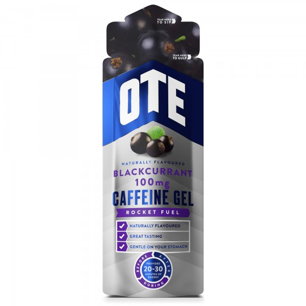 OTE Gel Caffeine Groselha Negra 56g