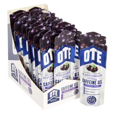 OTE Gel Caffeine Groselha Negra 20 X 56g