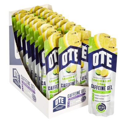 OTE Gel Caffeine Lima Limão 20 X 56g