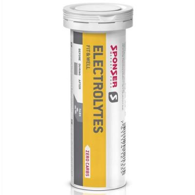 Sponser Electrolytes Limão 1 tubo 10x4,5g