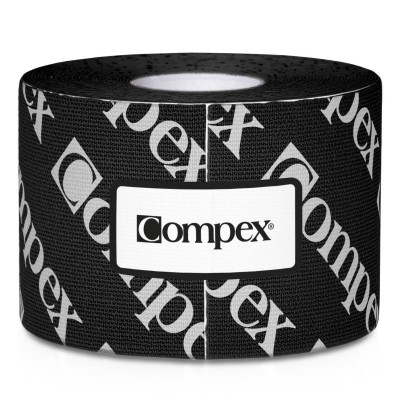 Compex Tape 5cm x 5m Preto