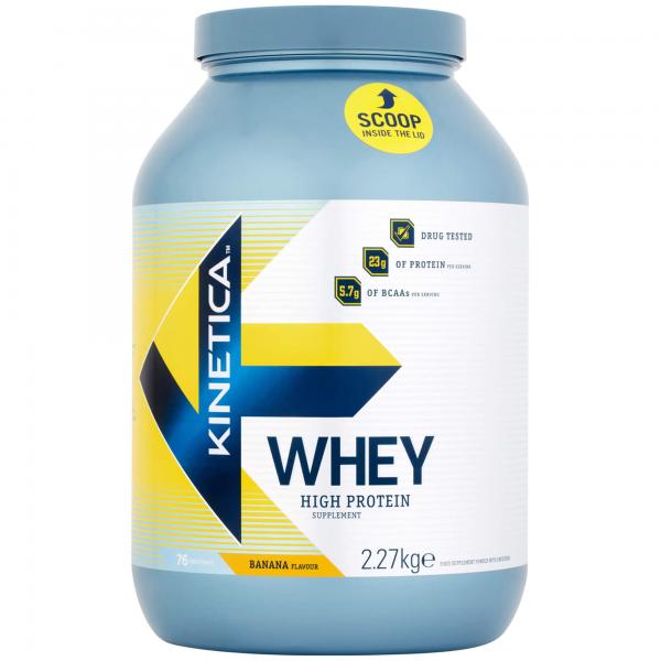 Kinetica Whey Protein 2,27Kg Banana