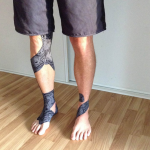 Dynamic Tape ECO Rolo 5cm x 5m Black/Grey Tattoo