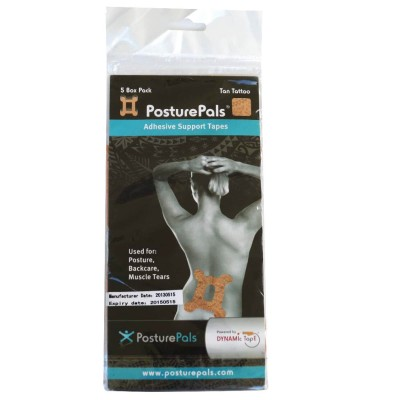Dynamic Tape Taping Posture Pals Box Design (5 unidades)