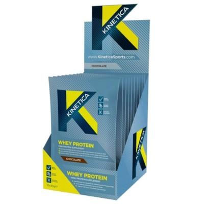 Kinetica Whey Protein 10 X 30g Chocolate