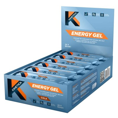 Kinetica Energy Gel Cola 24x60ml